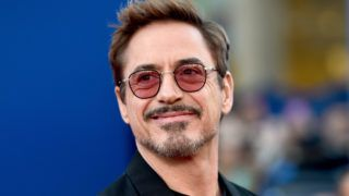 """HOLLYWOOD, CA - JUNE 28:  Robert Downey Jr. attends the premiere of Columbia Pictures' """"Spider-Man: Homecoming"""" at TCL Chinese Theatre on June 28, 2017 in Hollywood, California.  (Photo by Alberto E. Rodriguez/Getty Images)"""