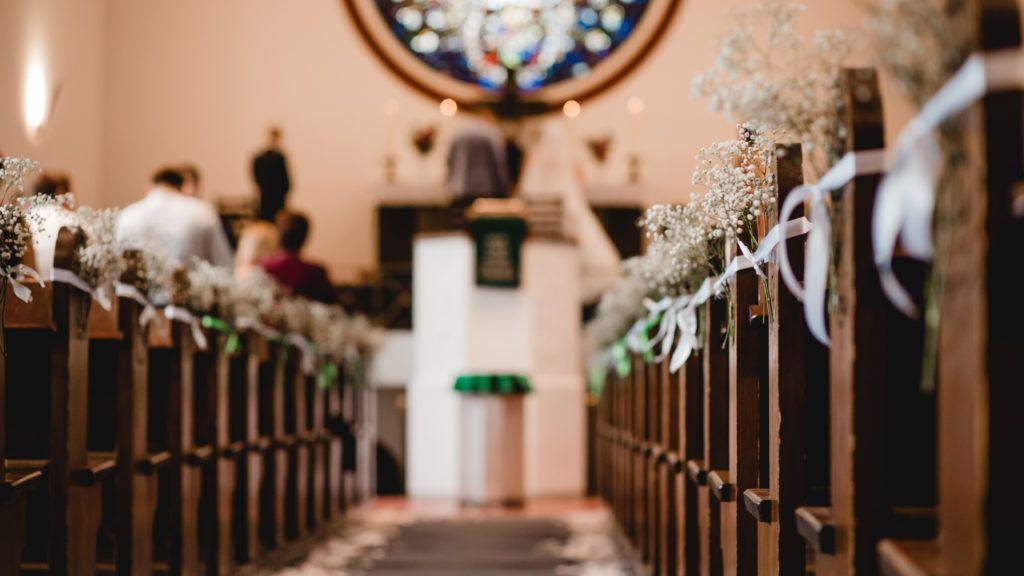 church wedding ceremony flowers decor