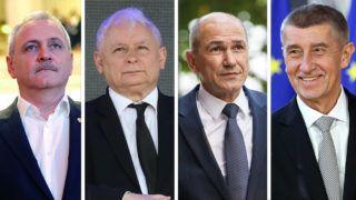 BRUSSELS, BELGIUM - APRIL 10: Czech Prime Minister Andrej Babis attends the EU Leaders Summit on Brexit at the European Council in Brussels, Belgium on April 10, 2019. Dursun Aydemir / Anadolu Agency