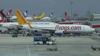 A Boeing 737-800 passenger plane from the Turkish airline company, Pegasus, at Istanbul International Airport, Ataturk (IST/LTBA) the largest airport in Turkey on 5 March 2016. (Photo by Nicolas Economou/NurPhoto)