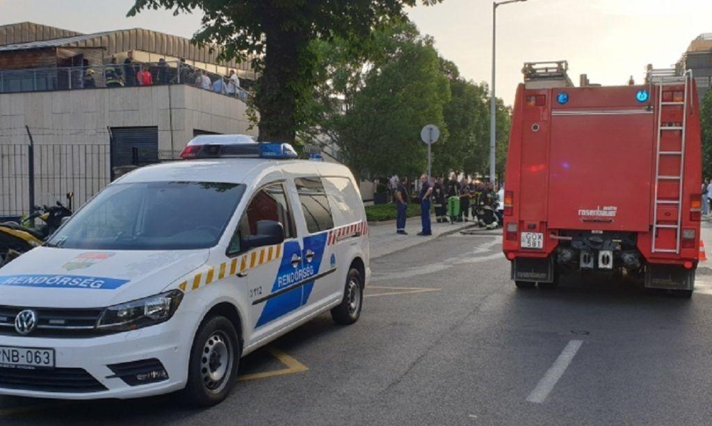 Tűz volt a Mom Sport tetején, egy 8 éves gyermek meghalt