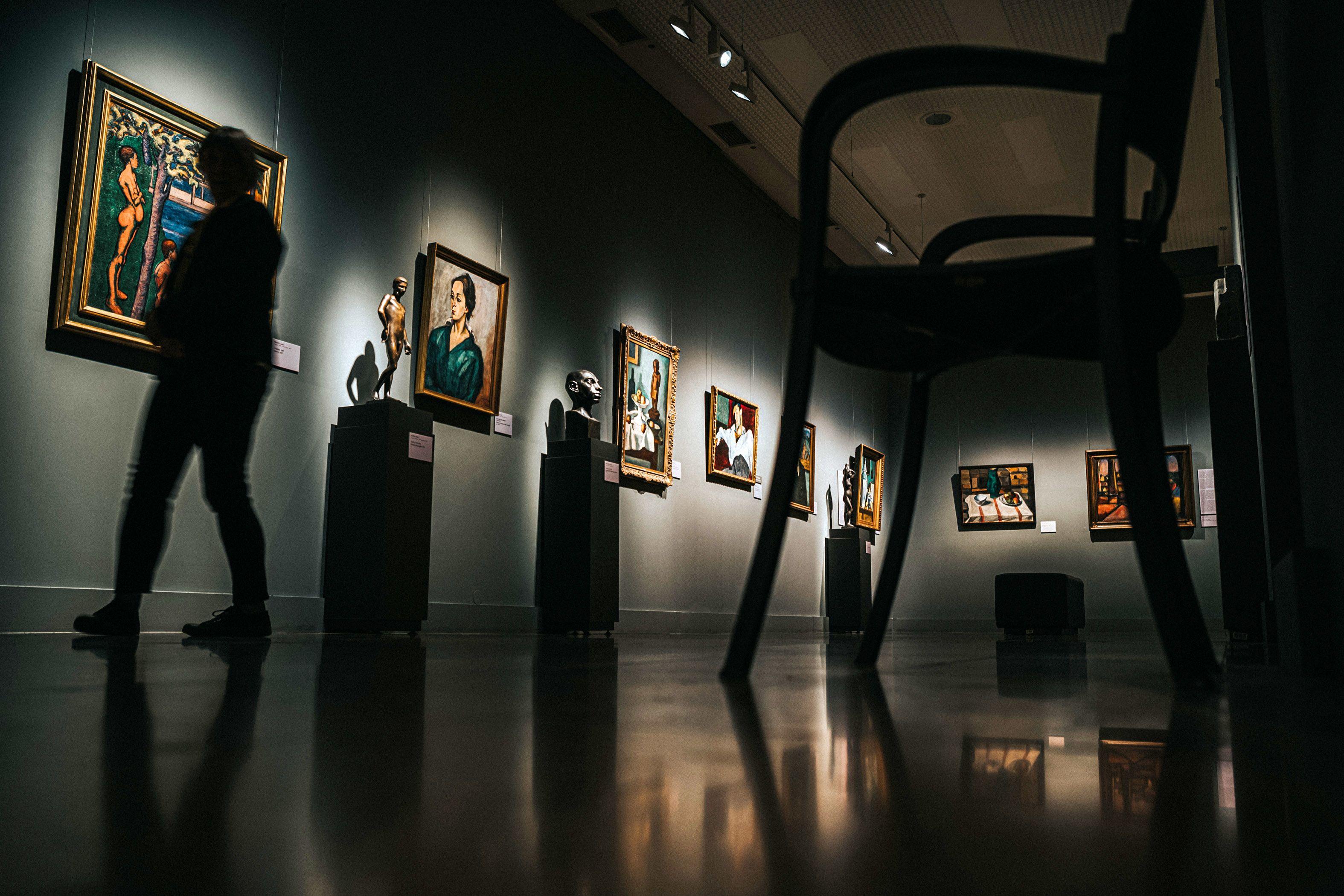 Image: 73903799, Magyar Nemzeti Galéria (MNG) illusztrációk, legdrágább festmények, Berény Róbert: Weiner Leó portréja, Place: Budapest, Hungary, Model Release: No or not aplicable, Property Release: Yes, Credit: smagpictures.com