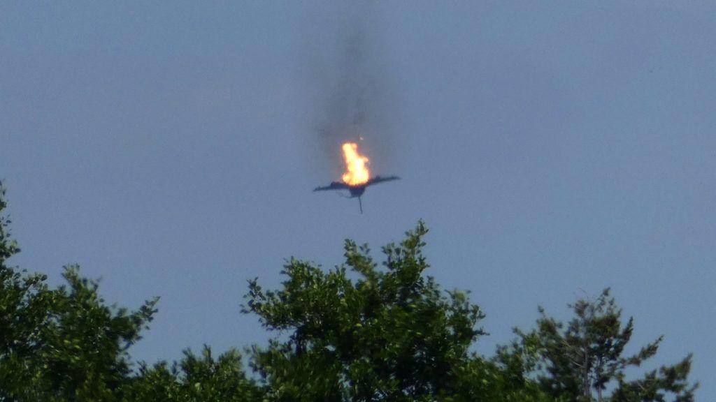 Német vadászgép-baleset: csak a testrészeit találták meg az egyik pilótának