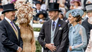 King Willem-Alexander and Queen Maxima visit Royal Ascot with Queen Elizabeth, Prince Charles, Camilla Duchess of Cornwall, William and Catherine Duke and Duchess of Cambridge in Ascot, United Kingdom, 18 June 2019. |