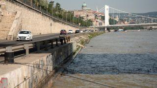 Budapest, 2019. május 26. A Duna magas vízállása, Budapesten a Szent Gellért térnél. MTVA/Bizományosi: Turbéky Eszter  *************************** Kedves Felhasználó! Ez a fotó nem a Duna Médiaszolgáltató Zrt./MTI által készített és kiadott fényképfelvétel, így harmadik személy által támasztott bárminemű – különösen szerzői jogi, szomszédos jogi és személyiségi jogi – igényért a fotó szerzője/jogutódja közvetlenül maga áll helyt, az MTVA felelőssége e körben kizárt.