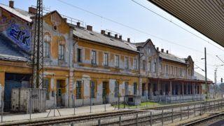 Budapest, 2019. március 23. A Kelenföldi pályaudvar állomásépülete a peronok felől. MTVA/Bizományosi: Róka László  *************************** Kedves Felhasználó! Ez a fotó nem a Duna Médiaszolgáltató Zrt./MTI által készített és kiadott fényképfelvétel, így harmadik személy által támasztott bárminemű – különösen szerzői jogi, szomszédos jogi és személyiségi jogi – igényért a fotó készítője közvetlenül maga áll helyt, az MTVA felelőssége e körben kizárt.