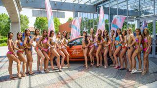 Siófok, 2019. június 12.A Magyarország Szépe - Miss World Hungary szépségverseny versenyzői a siófoki felkészítő táborban 2019. június 12-én. Idén hatodszor választják meg Magyarország Szépét; a showműsorral egybekötött verseny döntőjét élőben közvetíti a Duna Televízió és a Duna World csatorna június 23-án.MTI/Bodnár Boglárka