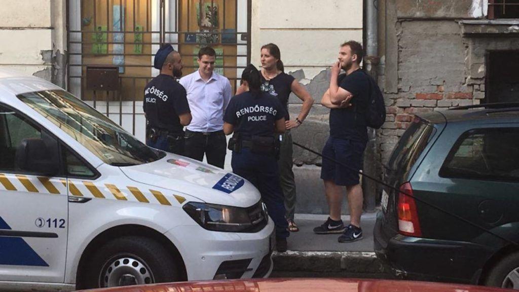 Rendőrök intézkedtek Budaházyék ellen a Pride rendezvényén