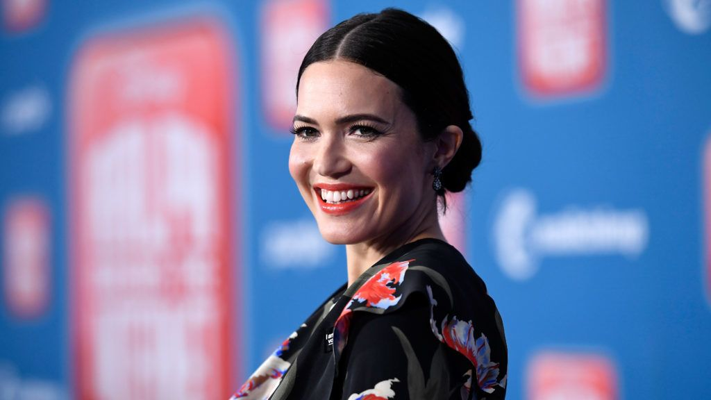 """LOS ANGELES, CA - NOVEMBER 05:  Mandy Moore attends the premiere of Disney's """"Ralph Breaks the Internet"""" at El Capitan Theatre on November 5, 2018 in Los Angeles, California.  (Photo by Kevork Djansezian/Getty Images)"""