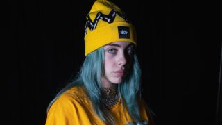 SEATTLE, WA - DECEMBER 11:  Singer Billie Eilish poses for a portrait backstage during Deck The Hall Ball hosted by 107.7 The End at WaMu Theater on December 11, 2018 in Seattle, Washington.  (Photo by Mat Hayward/Getty Images)