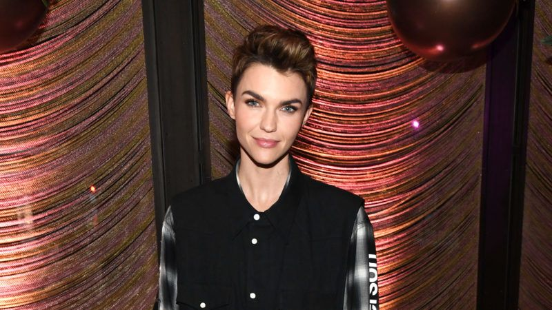 NEW YORK, NEW YORK - MAY 16: Ruby Rose attends the The CW Network 2019 Upfronts Party at The Pool on May 16, 2019 in New York City. (Photo by Kevin Mazur/Getty Images for The CW Network)