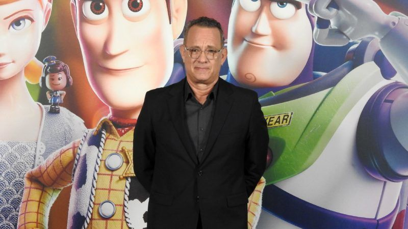 BARCELONA, SPAIN - JUNE 19: Tom Hanks attends 'Toy Story 4' photocall on June 19, 2019 in Barcelona, Spain. (Photo by Europa Press Entertainment/Europa Press via Getty Images)