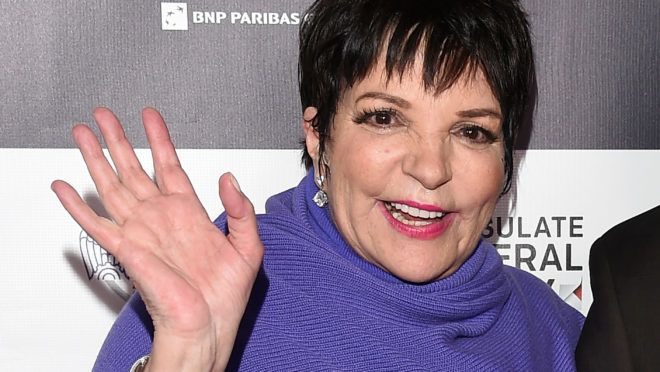 HOLLYWOOD, CA - FEBRUARY 20:  Liza Minnelli attends Los Angeles Italia Closing Night Ceremony at TCL Chinese 6 Theatres on February 20, 2015 in Hollywood, California.  (Photo by Venturelli/Getty Images)