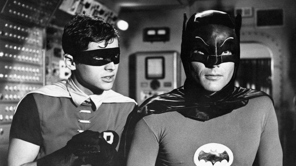 Burt Ward as Robin and Adam West as Batman in the original 1966 television series Batman. (Photo by  John Springer Collection/CORBIS/Corbis via Getty Images)