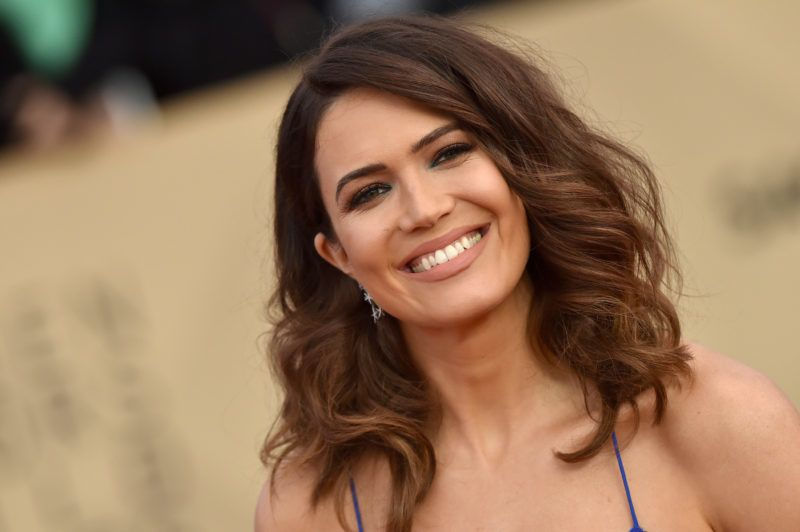 LOS ANGELES, CA - JANUARY 21:  Actress Mandy Moore attends the 24th Annual Screen Actors Guild Awards at The Shrine Auditorium on January 21, 2018 in Los Angeles, California.  (Photo by Axelle/Bauer-Griffin/FilmMagic)