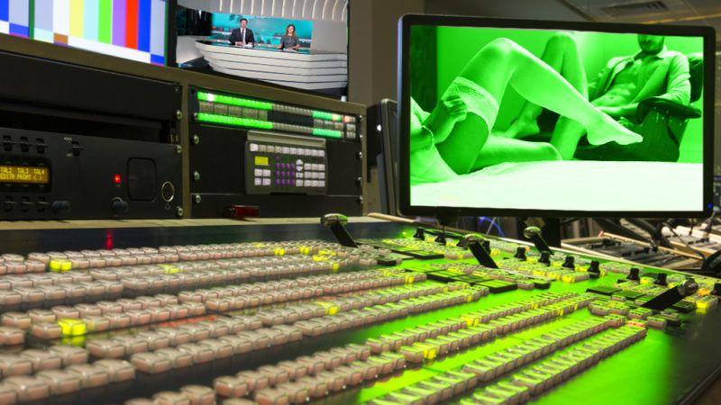 Broadcast Tv Studio Production - Vision Switcher, Broadcast video mixer