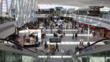 Budapest, Hungary - July 12, 2012: Ferenc Liszt International Airport Budapest. In 2011, the airport handled 8.9 million passengers.
