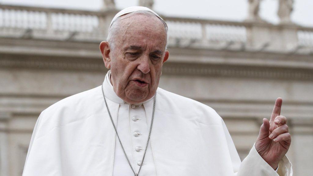 Vatikánváros, 2019. április 21. Ferenc pápa húsvétvasárnapi misét pontifikál a vatikáni Szent Péter téren 2019. április 21-én. MTI/EPA-ANSA/Riccardo Antimiani