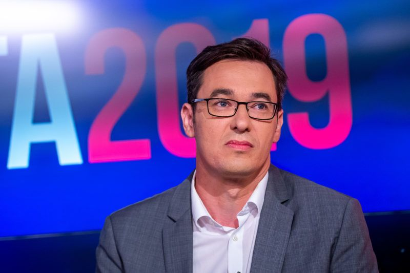 Az ellenzéki fõpolgármester-jelöltek elõválasztási vitája az ATV székházában.
