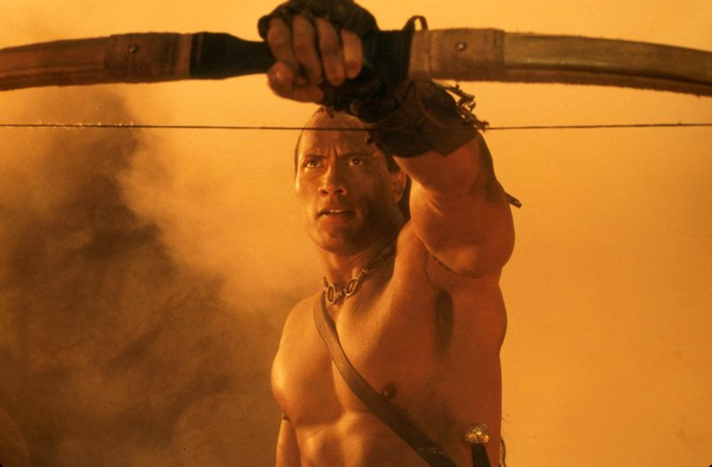 Le Roi scorpion  Scorpion King, The   Year: 2002 - USA / Germany  The Rock   Year: Dwayne Johnson -   Director: Chuck Russell