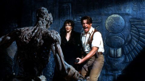 La Momie The Mummy  1999 Real  Stephen Sommers Brendan Fraser Rachel Weisz Arnold Vosloo. COLLECTION CHRISTOPHEL © Universal Pictures / Alphaville Films