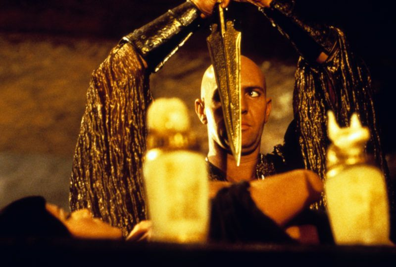 La momie The mummy 1999 Real  Stephen Sommers Arnold Vosloo. Collection Christophel © Universal pictures