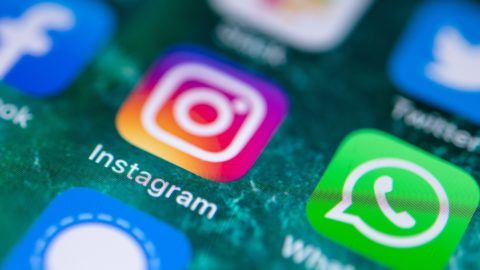 21 June 2019, Baden-Wuerttemberg, Stuttgart: The Instagram app is displayed on the screen of an iPhone. Photo: Fabian Sommer/dpa