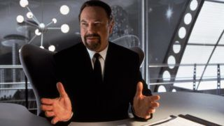 Men in black Year : 1997 USA Director : Barry Sonnenfeld Rip Torn. It is forbidden to reproduce the photograph out of context of the promotion of the film. It must be credited to the Film Company and/or the photographer assigned by or authorized by/allowed on the set by the Film Company. Restricted to Editorial Use. Photo12 does not grant publicity rights of the persons represented.