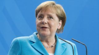 Federal Chancellor Angela MERKEL Press briefing of the Prime Minister of the Republic of Finland and the Federal Chancellor in the Federal Chancellery in Berlin, Germany on 10.07.2019.   Usage worldwide