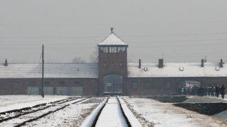 The Gate of Death at the former Nazi concentration camp Auschwitz II-Birkenau in Brzezinka near Oswiecim, Poland on 27 January 2014. (Photo by Jakub Porzycki/NurPhoto)