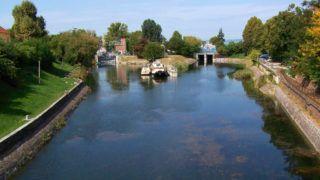 Siófok, 2018. szeptember 17. A Balaton vízszintjét szabályozó és nagyobb vízi jármûvek átemelését szolgáló zsiliprendszer a Sió folyó (csatorna) kezdeti szakaszával. MTVA/Bizományosi: Jászai Csaba  *************************** Kedves Felhasználó! Ez a fotó nem a Duna Médiaszolgáltató Zrt./MTI által készített és kiadott fényképfelvétel, így harmadik személy által támasztott bárminemû – különösen szerzõi jogi, szomszédos jogi és személyiségi jogi – igényért a fotó készítõje közvetlenül maga áll helyt, az MTVA felelõssége e körben kizárt.