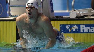 Kvangdzsu, 2019. július 19. Kenderesi Tamás edz két nappal az úszóversenyek kezdete elõtt a 18. vizes világbajnokságon a dél-koreai Kvangdzsuban 2019. július 19-én. MTI/Kovács Tamás