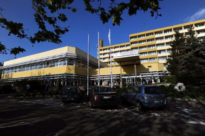 Hévízgyörk, 2010. május 10. A Hunguest Hotel Helios épülete Hévízen. MTI Fotó: Manek Attila