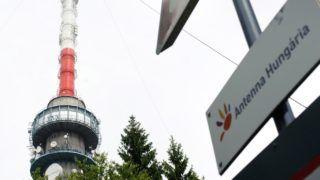 Kékestetõ, 2012. június 12. Az Antenna Hungária kékestetõi adótornya. MTI Fotó: Komka Péter