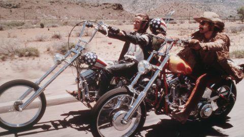 Easy Rider  Year 1969 USA Dennis Hopper , Peter Fonda  Director: Dennis Hopper