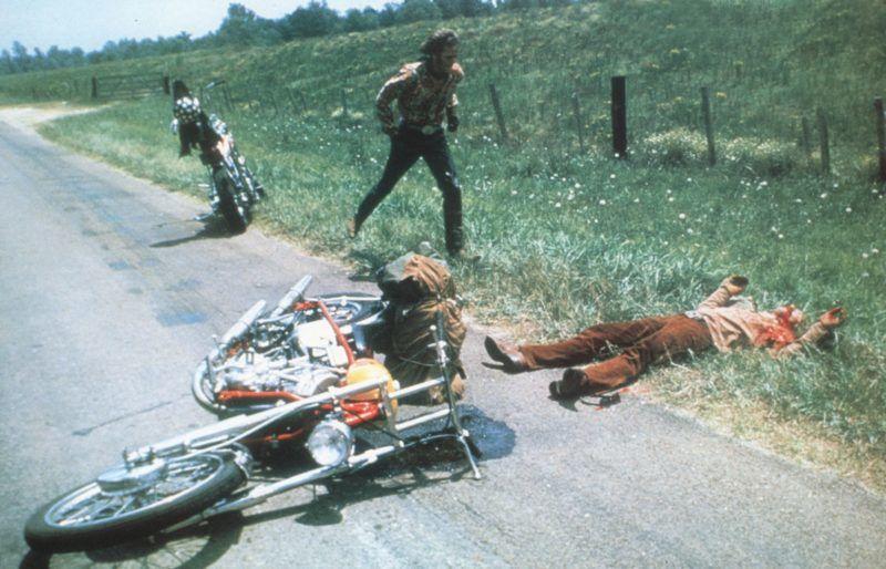 Easy Rider  Year : 1969 - USA Director : Dennis Hopper Peter Fonda