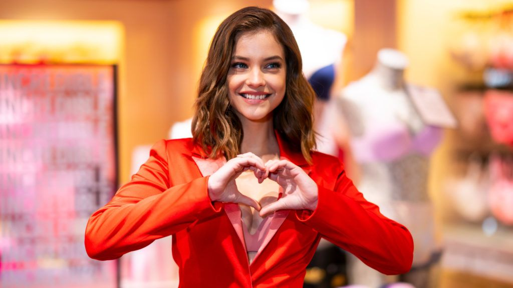 NEW YORK, NEW YORK - APRIL 16: Angel Barbara Palvin launches New Incredible By Victoria's Secret Collection at Victoria's Secret 5th Avenue Store on April 16, 2019 in New York City. (Photo by Michael Stewart/Getty Images)