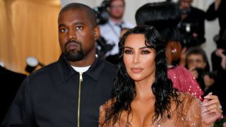 NEW YORK, NEW YORK - MAY 06: Kim Kardashian West and Kanye West attend The 2019 Met Gala Celebrating Camp: Notes on Fashion at Metropolitan Museum of Art on May 06, 2019 in New York City. (Photo by Dia Dipasupil/FilmMagic)