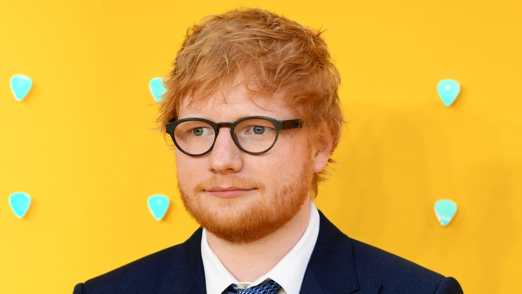 """LONDON, ENGLAND - JUNE 18: Ed Sheeran attends the UK Premiere of """"Yesterday"""" at Odeon Luxe Leicester Square on June 18, 2019 in London, England. (Photo by Gareth Cattermole/Getty Images)"""