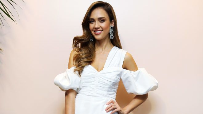 ROME, ITALY - JUNE 22: Jessica Alba attends a Meet & Greet event for the presentation of the Honest Beauty line at Douglas store in Rome on June 22, 2019 in Rome, Italy. (Photo by Ernesto Ruscio/Getty Images)
