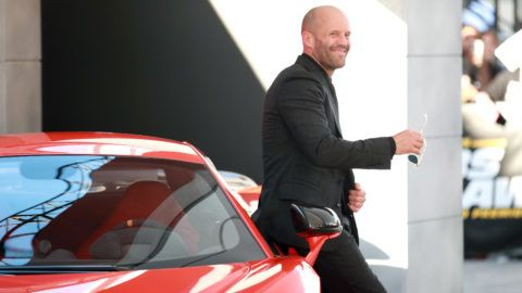 """HOLLYWOOD, CALIFORNIA - JULY 13: Jason Statham attends the premiere of Universal Pictures' """"Fast & Furious Presents: Hobbs & Shaw"""" at Dolby Theatre on July 13, 2019 in Hollywood, California. (Photo by Rich Fury/Getty Images)"""