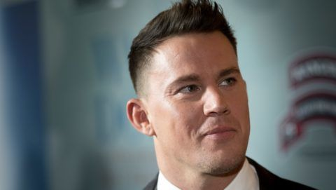"""LOS ANGELES, CALIFORNIA - NOVEMBER 06:  Executive Producer Channing Tatum attends the HBO And Army Ranger Lead The Way Fun Present The Premiere Of """"War Dog: A Soldier's Best Friend"""" at Directors Guild Of America on November 6, 2017 in Los Angeles, California.  (Photo by Greg Doherty/Getty Images)"""