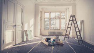 renovation - apartment during  restoration