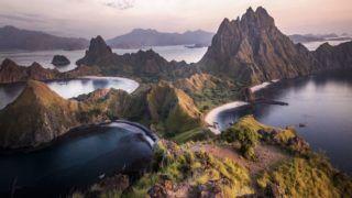 Magical Scenes in Indonesia's Padar Island