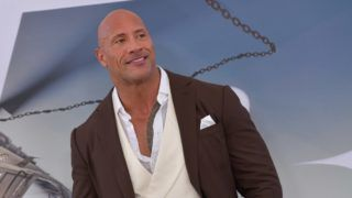 """US actor Dwayne Johnson attends the world premiere of """"Fast & Furious presents Hobbs & Shaw,"""" at the Dolby Theatre in Hollywood, California, July 13, 2019. (Photo by Chris Delmas / AFP)"""