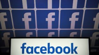 """(FILES)This file photo illustration taken on July 4, 2019 shows the logo of the US online social media and social networking service Facebook. - Facebook on August 1, 2019 said it derailed a pair of shady online influence campaigns in the Arabic-speaking world including one linked to the Saudi Arabian government.The campaigns appeared to be separate efforts, but both involved """"coordinated inauthentic behavior"""" on Facebook and its Instagram image-centric social network, according to head of cybersecurity policy Nathaniel Gleicher. (Photo by LOIC VENANCE / AFP)"""
