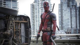 Deadpool Year : 2016 USA / Canada Director : Tim Miller Ryan Reynolds Photo: Joe Lederer. It is forbidden to reproduce the photograph out of context of the promotion of the film. It must be credited to the Film Company and/or the photographer assigned by or authorized by/allowed on the set by the Film Company. Restricted to Editorial Use. Photo12 does not grant publicity rights of the persons represented.
