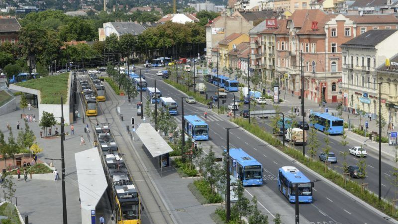 Budapest, 2016. július 22. A Széll Kálmán tér 2016. július 22-én. MTI Fotó: Soós Lajos