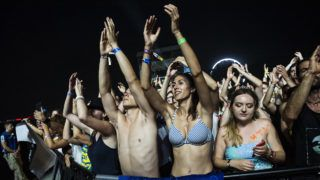 Budapest, 2019. augusztus 11.Az amerikai The National rockegyüttes koncertje a 27. Sziget fesztiválon az óbudai Hajógyári-szigeten 2019. augusztus 10-én.MTI/Mónus Márton