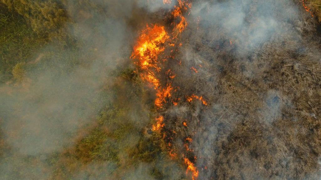 Ég az Amazonas, már az űrből is látszik